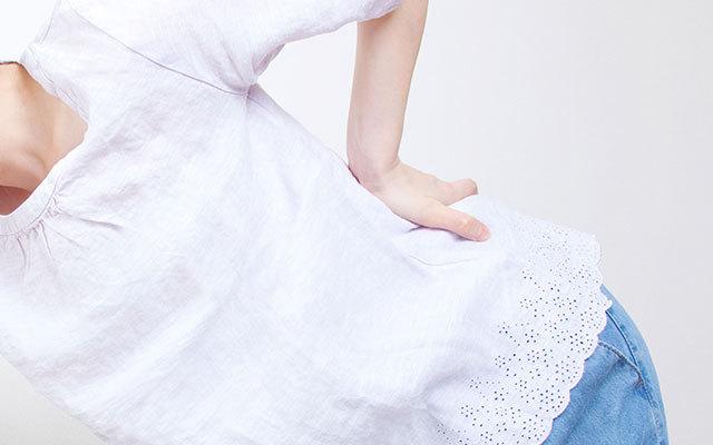症例 産後の腰痛 骨盤の歪み